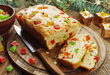 Candied fruit cakes for cakes