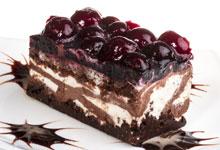 Amarena cherries for cakes
