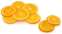 Naranjas en almibar