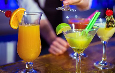 cerises pour cocktails