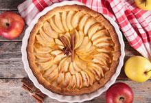 Tarta de Manzana en Almíbar