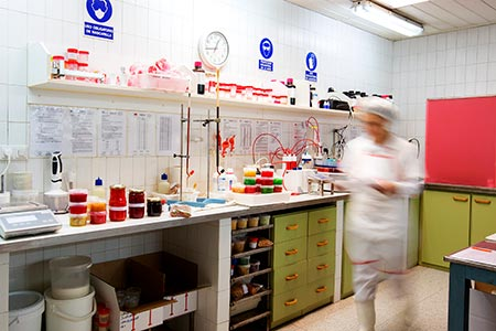 Food safety controls, both internal and external, are a priority for our factory of certified preserved fruit.