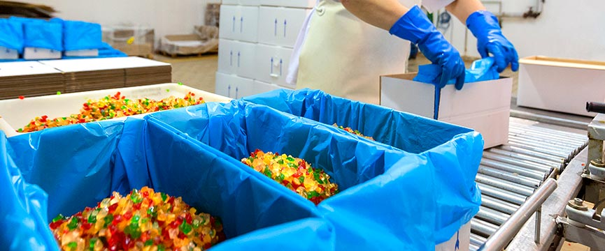 Todas nuestras frutas en conserva con certificado alimentario son envasadas con la máxima higiene y seguridad.