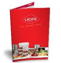 Frutas en conserva, descargar Catálogo de Lazaya