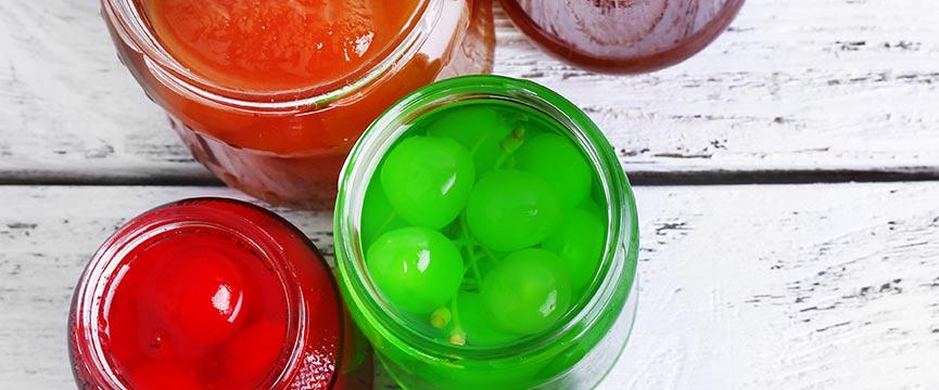 Fruta confitada de la mejor calidad: Lazaya se adapta a tus requerimientos en colorantes, conservantes, etc. en todas sus frutas en conserva.