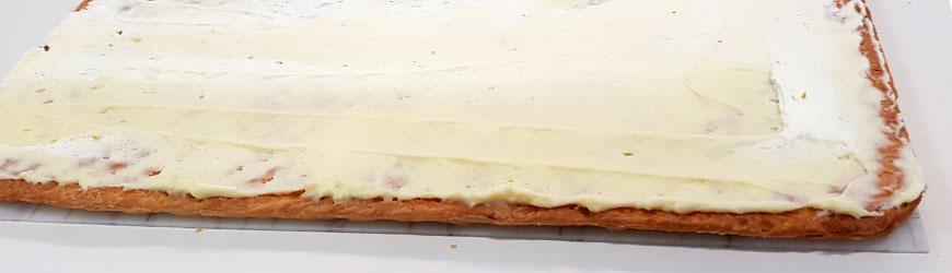 Geles para tartas: perfectos para cubrir tus planchas de hojaldre dulces en pastelería.