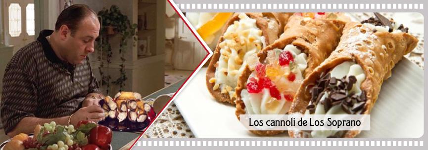 La fruta confitada está presente en los cannoli sicilianos que degusta el protagonista de Los Soprano.