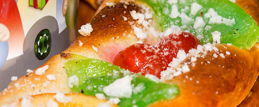 Fruta escarchada de calidad para el Roscón de Reyes