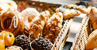 Candied fruit in baked goods and cakes