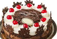 Glace cherries for decorating cakes