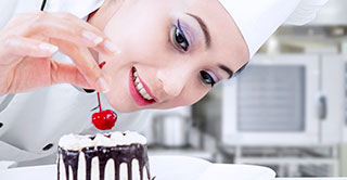 Premium desserts need quality glace cherries in hotels and restaurants.
