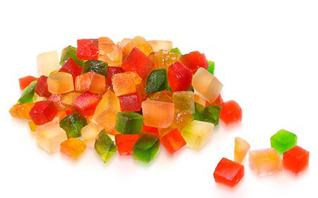 Gluten free preserved fruit is suitable in different presentations for your comfort.