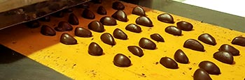 Heat and then cold: that is the way the fruits of Aragon are chocolate coated.