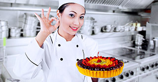 Uses of candied fruits for Horeca in desserts and salt dishes