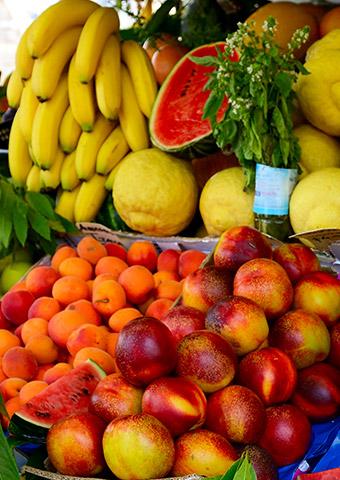 preserved fruit, calendar of fruit and vegetables