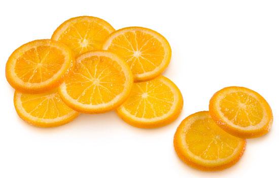 Orange in syrup