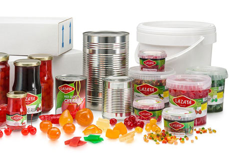 Candied fruits produced by Lazaya Company